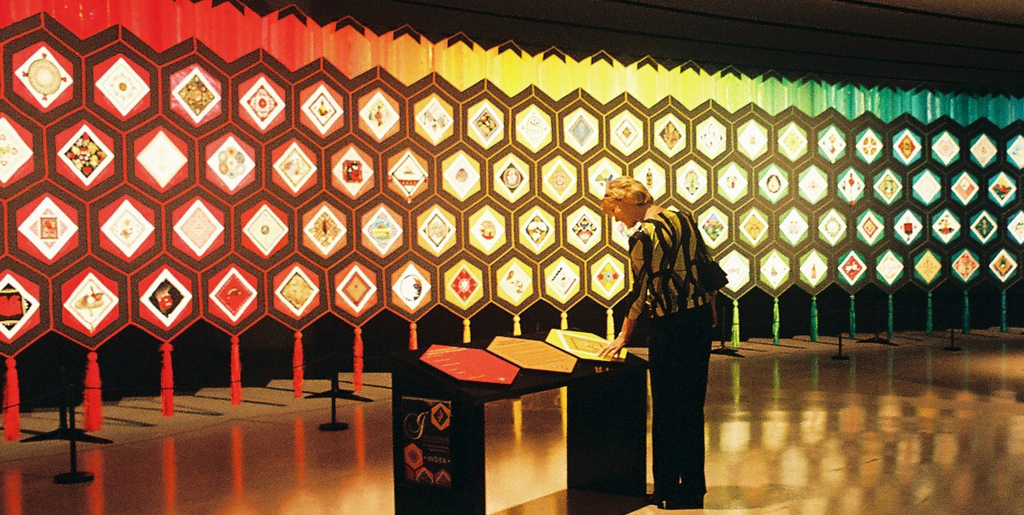 Quilt Launch at the Canadian Museum of Civilization, April 2005