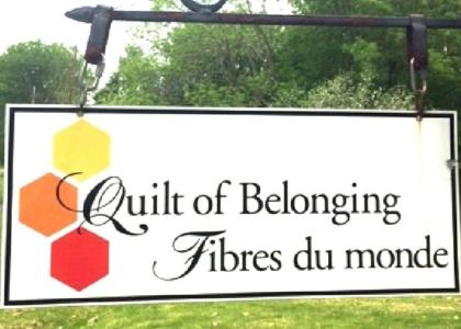 Quilt of Belonging Sign 2