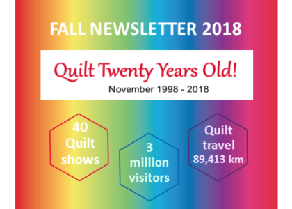 2018 Fall Newsletter photo